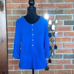 💙 RW&CO Royal Blue Blouse